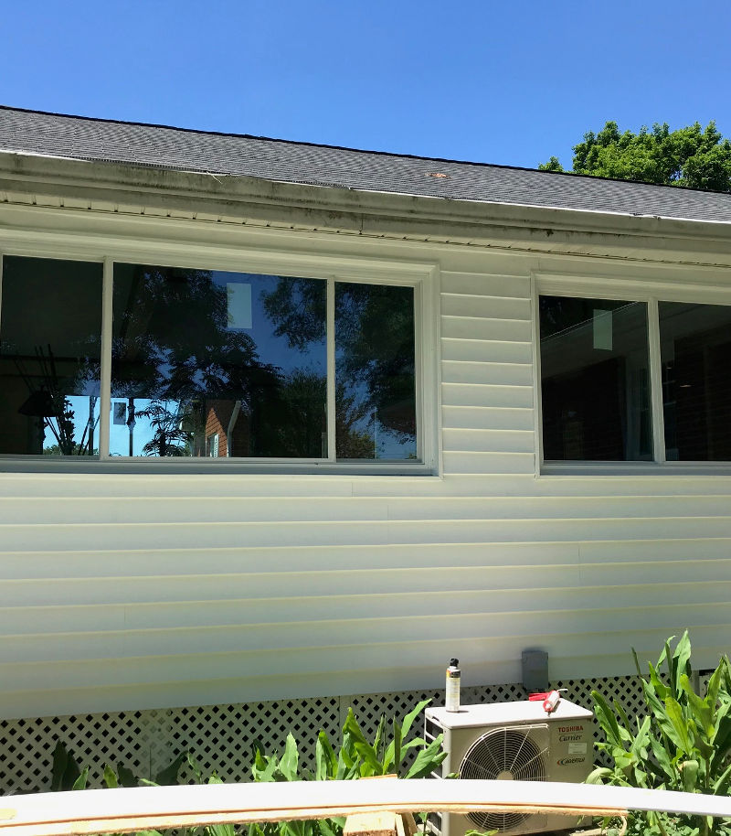 window after replacement